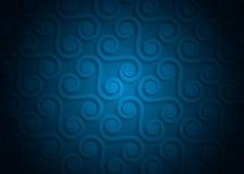 Geometrisches Muster des blauen Papiers, abstrakte Hintergrundschablone für Website, Fahne, Visitenkarte, Einladung Lizenzfreies Stockbild