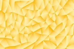 Geometrisches Muster des Golddreiecks Vektor Abbildung