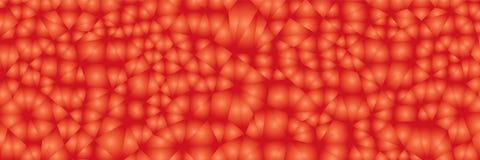 Geometrisches Muster des klaren Dreiecks Stock Abbildung