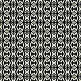Geometrisches Muster des nahtlosen abstrakten Vektors im einfarbigen backgro Stockfotografie