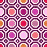 Geometrisches Muster des nahtlosen Gekritzels Lizenzfreie Stockfotos