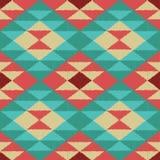 Geometrisches Muster des nahtlosen Gekritzels Stockfoto