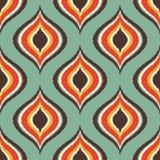 Geometrisches Muster des nahtlosen Gekritzels Stockbild