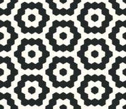 Geometrisches Muster des nahtlosen Gekritzels Stockbilder
