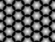 Geometrisches Muster des nahtlosen Hexagons des Designs Lizenzfreie Stockfotografie