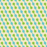 Geometrisches Muster des nahtlosen Vektors. Stockfoto