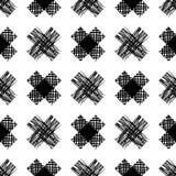 Geometrisches Muster des nahtlosen Vektors Stockfoto
