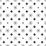 Geometrisches Muster des Sternes Nahtloser Vektor Stockbilder