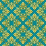 Geometrisches Muster des Vektors mit Rauten Stockbild