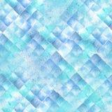 Geometrisches Muster des Watercolour Stockfoto