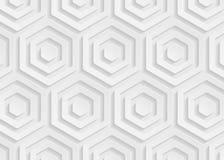 Geometrisches Muster des Weißbuches, abstrakte Hintergrundschablone für Website, Fahne, Visitenkarte, Einladung Stockfotos