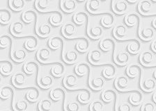 Geometrisches Muster des Weißbuches, abstrakte Hintergrundschablone für Website, Fahne, Visitenkarte, Einladung Stockfoto