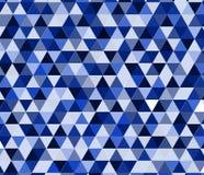 Geometrisches Muster, Dreieckdesignschablone Lizenzfreie Stockfotografie