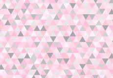 Geometrisches Muster, Dreieckdesignschablone Stockfoto