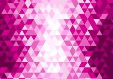Geometrisches Muster, Dreieckdesignschablone Lizenzfreies Stockfoto