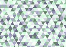 Geometrisches Muster, Dreieckdesignschablone Lizenzfreies Stockbild