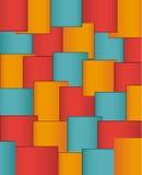 Geometrisches Muster entziehen Sie Hintergrund stockfotos