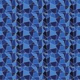 Geometrisches Muster/Hintergrund des nahtlosen Vektors Stockfotos
