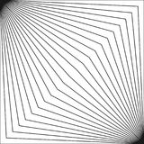 Geometrisches Muster mit dünnen diagonalen Linien in der quadratischen Form vektor abbildung