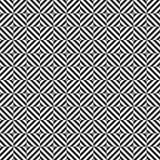 Geometrisches Muster mit den Streifen - nahtlos Lizenzfreies Stockbild