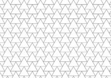 Geometrisches Muster von Dreiecklinien Lizenzfreie Stockfotos