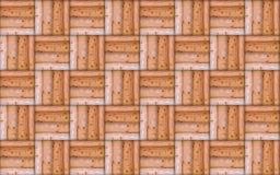 Geometrisches Muster von getretenen Linien endlose Wiederholung Stockbilder