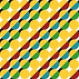 Geometrisches Muster von Kreisen vektor abbildung