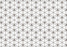 Geometrisches Muster von schneidenen Linien Auch im corel abgehobenen Betrag Stockfoto