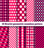 Geometrisches Muster zehn Stockbilder