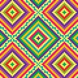 Geometrisches Musterjunges Stockbilder