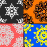 Geometrisches Musterset Stockbilder