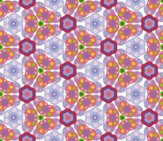 Geometrisches nahtloses abstraktes Muster Stockfoto