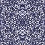 Geometrisches nahtloses abstraktes Muster Stockfotos