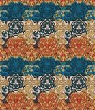 Geometrisches nahtloses abstraktes Muster Stockfotografie