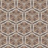 Geometrisches nahtloses abstraktes Muster Lizenzfreie Stockfotografie