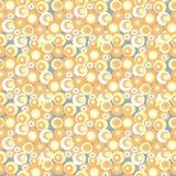 Geometrisches nahtloses abstraktes Muster Lizenzfreies Stockfoto