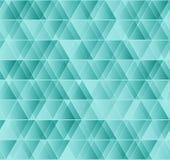 Geometrisches nahtloses Dreieckmuster des Vektors Stockfotografie