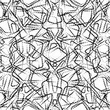 Geometrisches nahtloses einfaches Muster Stockfoto