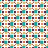 Geometrisches nahtloses einzigartiges Muster des Quadrats recht vektor abbildung