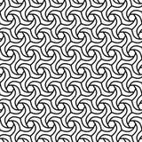 geometrisches nahtloses Muster Lizenzfreies Stockbild