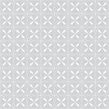 geometrisches nahtloses Muster Lizenzfreies Stockfoto