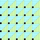 geometrisches nahtloses Muster Abstrakter vektorhintergrund parquet lizenzfreie abbildung