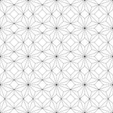geometrisches nahtloses Muster Auch im corel abgehobenen Betrag Lizenzfreie Stockbilder