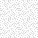 geometrisches nahtloses Muster Auch im corel abgehobenen Betrag Stockbild