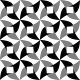 geometrisches nahtloses Muster Auch im corel abgehobenen Betrag Stockfotografie
