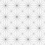 geometrisches nahtloses Muster Auch im corel abgehobenen Betrag Stockbilder