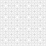 geometrisches nahtloses Muster Auch im corel abgehobenen Betrag Lizenzfreies Stockfoto