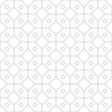 geometrisches nahtloses Muster Auch im corel abgehobenen Betrag Lizenzfreie Stockfotografie