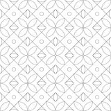 geometrisches nahtloses Muster Auch im corel abgehobenen Betrag Stockfotos