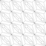 geometrisches nahtloses Muster Auch im corel abgehobenen Betrag Lizenzfreie Stockfotos
